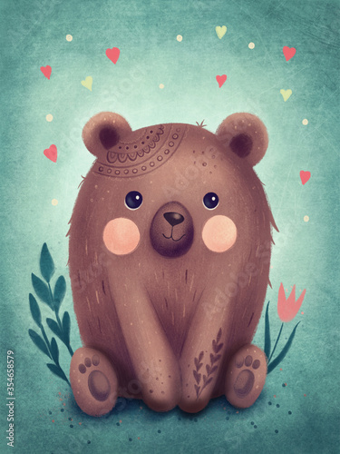Fototapeta Cute bear obraz
