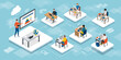 E-learning, online education and virtual classroom