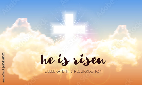 Photographie He is risen