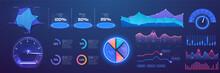 Futuristic Neon Infographic Da...
