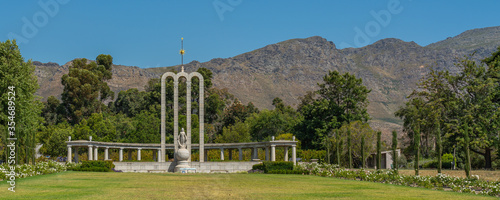 Cuadros en Lienzo Panorama of Huguenot Memorial, Franschhoek, South Africa