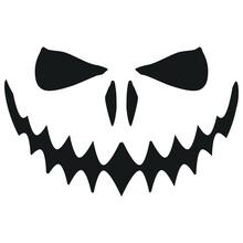 Jack O Lantern Scary. Face Pum...