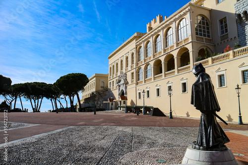 Prince's palace of Monaco in Monaco-Ville.