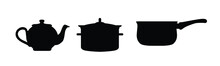 Set Of Icons For Cooking And K...