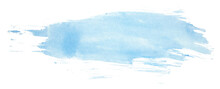 Blue Watercolor Stain, Brush S...
