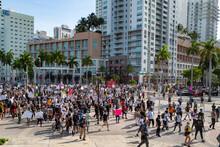 Miami Downtown, FL, USA - MAY ...