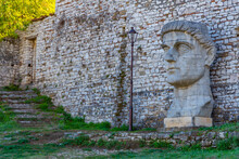 Head Of Constantine The Great ...