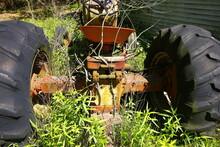 Old, Broken Down Tractor