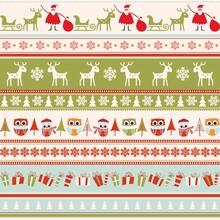 Christmas Seamless Colorful Pa...