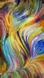 canvas print picture - Multiple Color Background textures