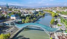 Tbilisi Skyline Aerial Drone V...