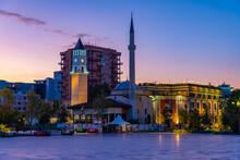 Sunrise View Of Ethem Bey Mosq...