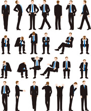 ビジネスマン、会社員...