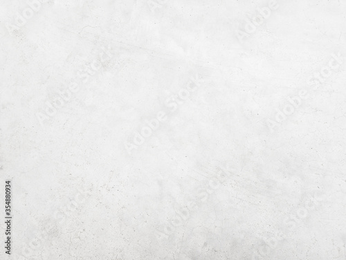 Fototapety, obrazy: White cement wall background in vintage style