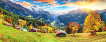Fabulous Autumn View Of Pictur...