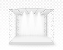 3D White Stage