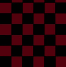 Red And Black Checkerboard Pat...
