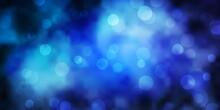 Dark BLUE Vector Background Wi...