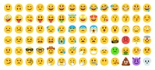 Flat Yellow Emoji Collection. ...