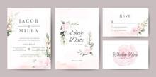 Wedding Invitaion Card Set Tem...