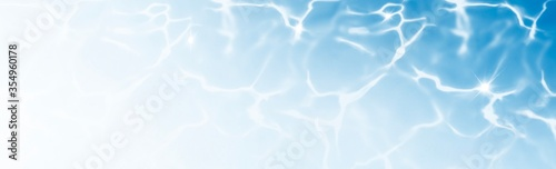Fototapeta Abstract Backgrounds Summer water in swimming banner obraz