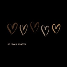 Vector Quote All Lives Matter ...