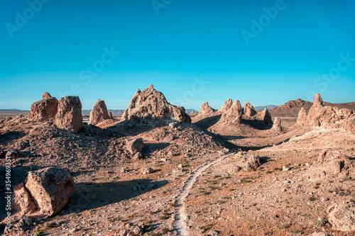 red rocks in the desert