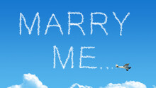 Marry Me Airplane Smoke On Blu...