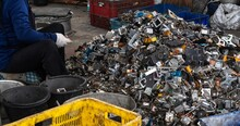 Scrap Yard Electronic Waste F...
