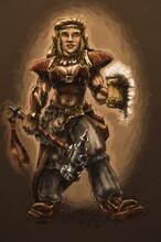 Fantasy Concept Illustration, ...