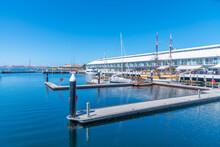 Elizabeth Street Pier In Hobart, Australia