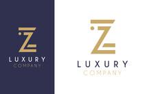 Premium Vector Z Logo In Two C...