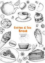 Breakfast Hand Drawn Illustrat...