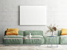 Home Interior Mock-up Poster O...