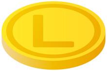 The Honduran Lempira Currency Symbol Coin