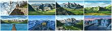 Mountain Landscape Backgrounds...