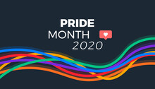 Pride Month 2020 Abstract Vect...