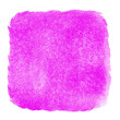 canvas print picture - Purple magenta watercolor textured backdrop wallpaper background. Hand drawing square watercolor paint on paper. Rugged grunge texture