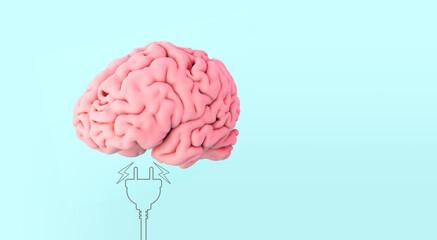 human brain AND PLUG