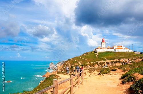 Cabo da Roca, Portugal Canvas Print