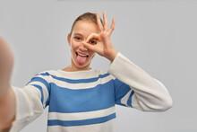 People Concept - Funny Teenage...