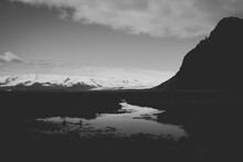 Islande, Photo Noir Et Blanc