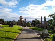 Glasgow Necropolis At Summer