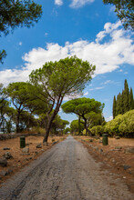 Via Appia, The Oldest Roman Highway Next To The Ciampino Airport