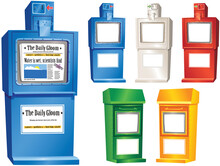 Newspaper Vending Stands