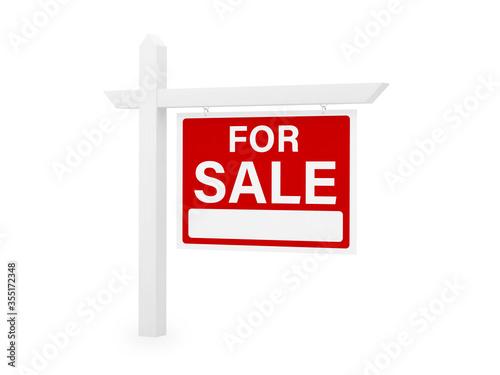 for sale house home real estate sign Fototapet