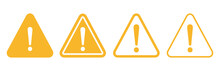 Warning Sign Icon Vector Trian...