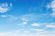 Leinwandbild Motiv white cloud with blue sky nature landscape background