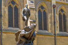 Statue Of Captain Matthew Flinders In Melbourne, Australia