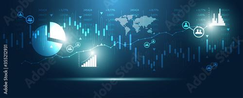 Foto grafico economia, istogrammi, statistiche